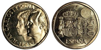 pesetas spain money