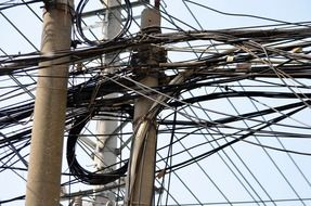 interlocking electrical wires in china