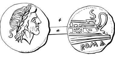 republic money,italy drawing