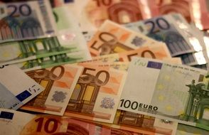 euro money banknote