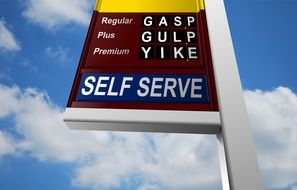 oil price gas station news fuel