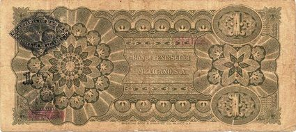 peso banknote mexico money exchange
