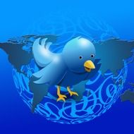 Clipart of the twitter bird