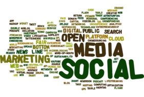 tagcloud about media social
