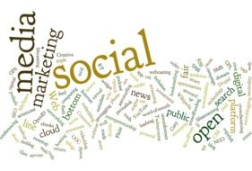 tagcloud about media marketing