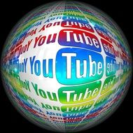 Clipart of you tube ball