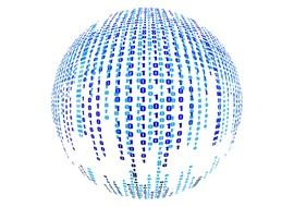 sphere with binary codes
