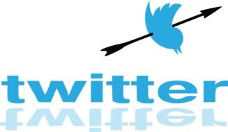 shot blue twitter bird