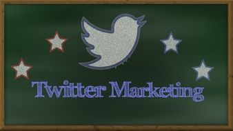 twitter marketing drawing