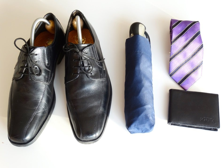 businessman profession workwear and accessories