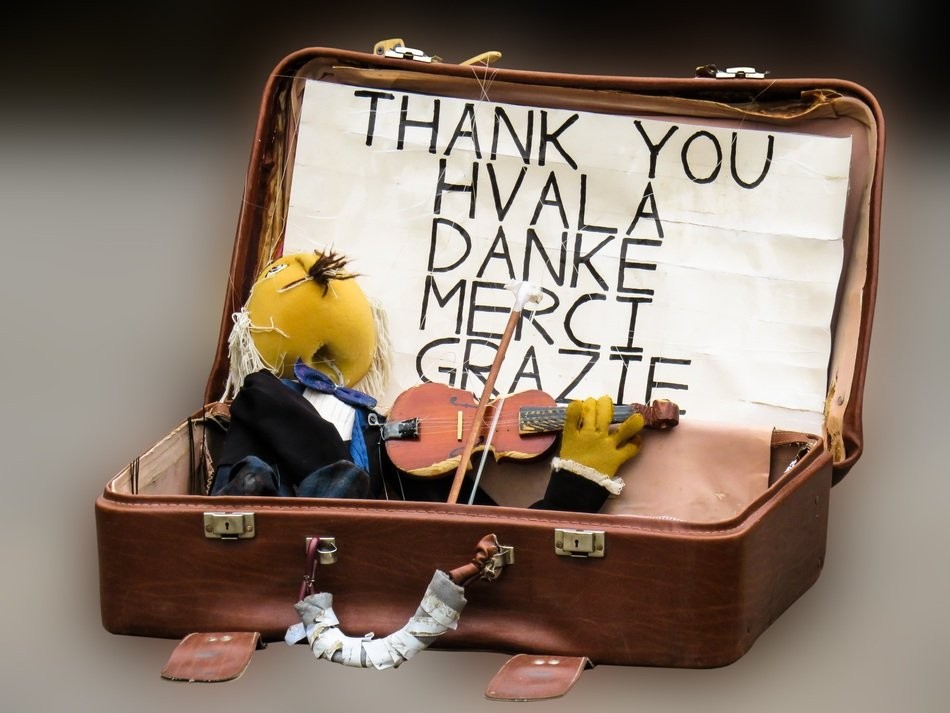 puppet doll star fig in suitcase