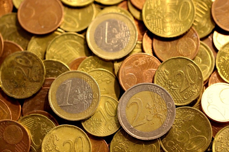 money coins euro cash currency