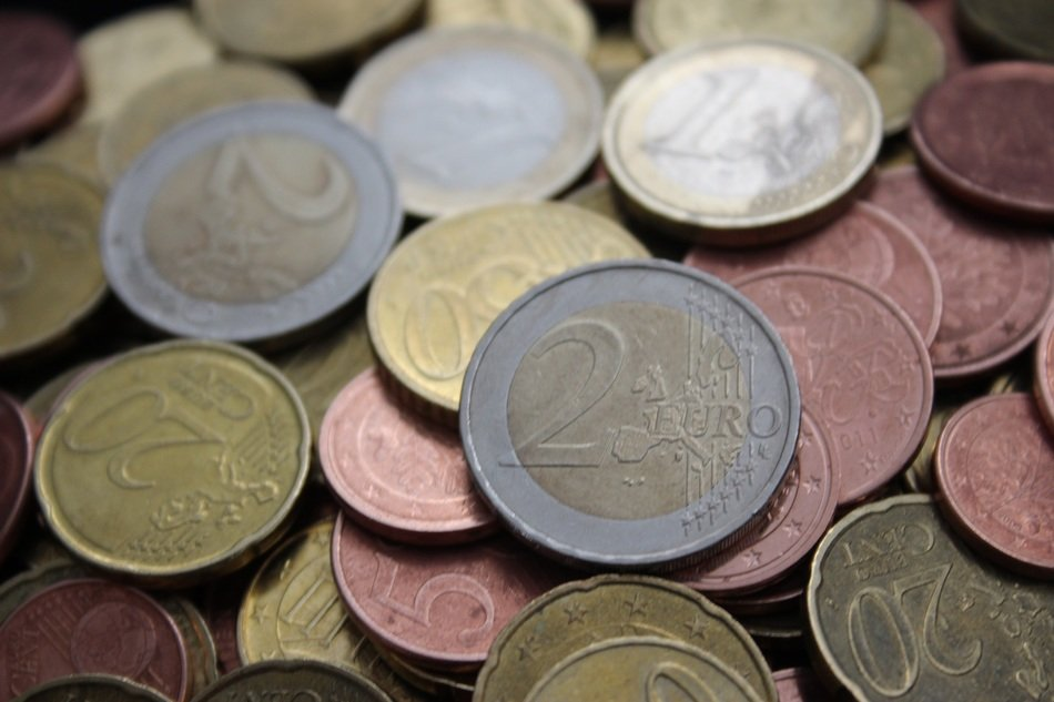 euro money coins cash currency