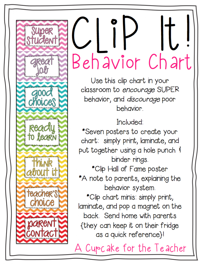 photograph regarding Printable Behavior Charts for Home named Printable Behaviors Charts For Academics no cost picture