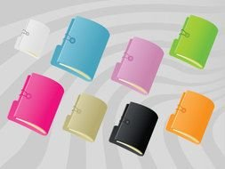 Color Folder Clip Art