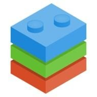 Clip art of colorful LEGO Blocks