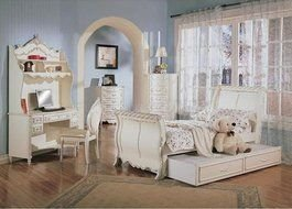 Clipart of Girls White Bedroom Furniture Sets