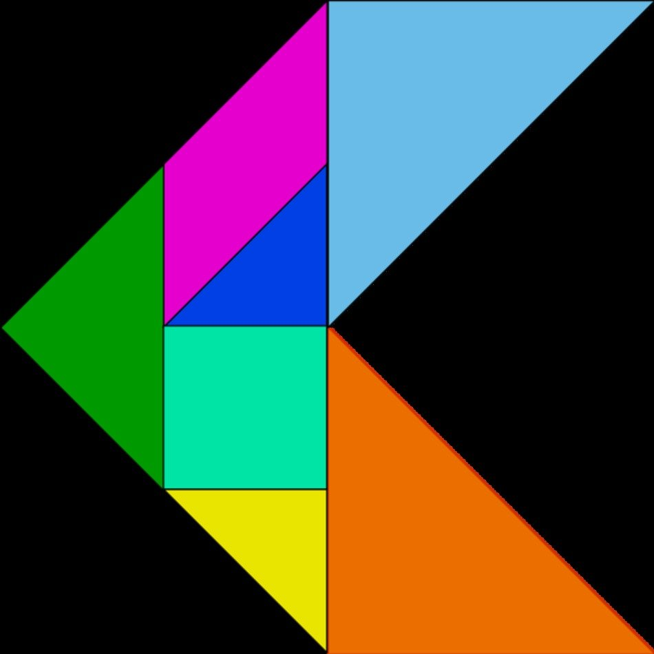 It's just a graphic of Printable Tangram with regard to animal