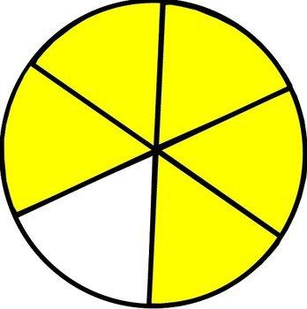 2 6 fraction circle free image