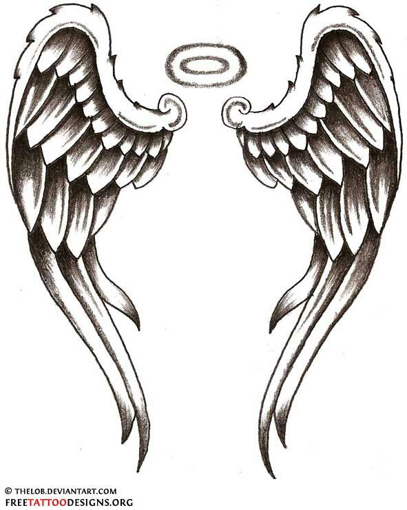Heart With Angel Wings Tattoo Designs Free Image