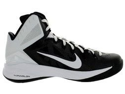 Black And White Nike Hyperdunk drawing