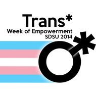 Trans community sign clipart