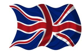 Clipart of Union Jack Flag