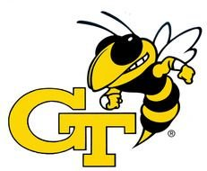 Georgia Tech Yellow Jackets Football drawing