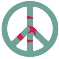 peace sign and symbol of Turkey