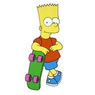 Bart Simpson Cartoon as a graphic illustration