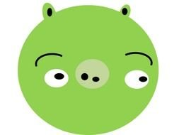 Angry Birds Pig clipart