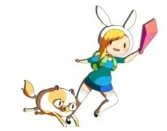 running cartoon characters as a picture for clipart
