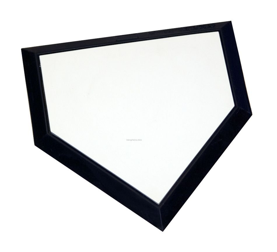 Black and white drawing of the blank baseball field diagram clipart