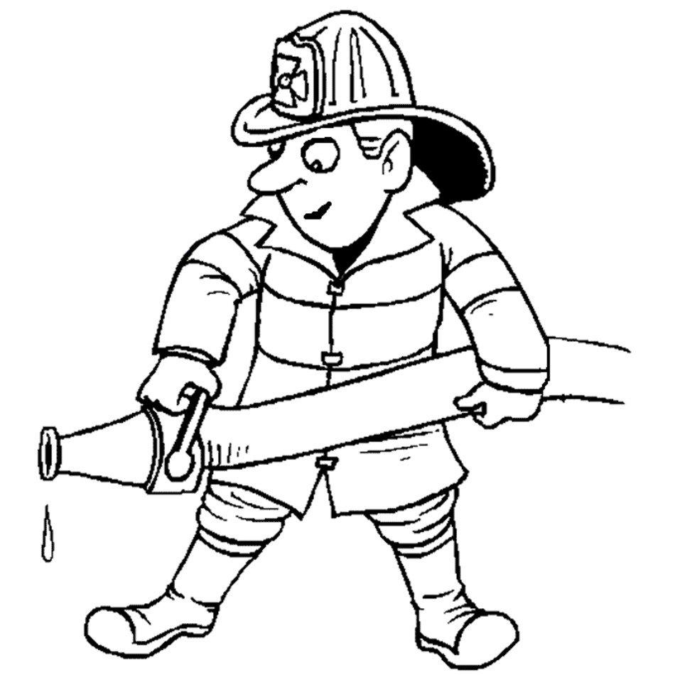 Community Helper Coloring Pages | Community helpers preschool ... | 950x950