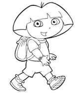 Dora Coloring Pages N2