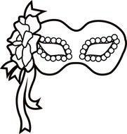 free printable mardi gras mask template n3 free image