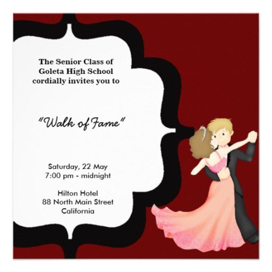 teens prom invitation - 950×950