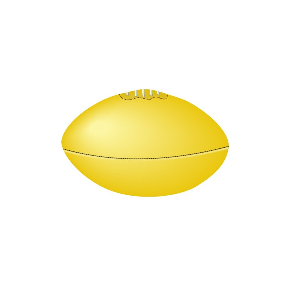 Australian Rules Football drawing