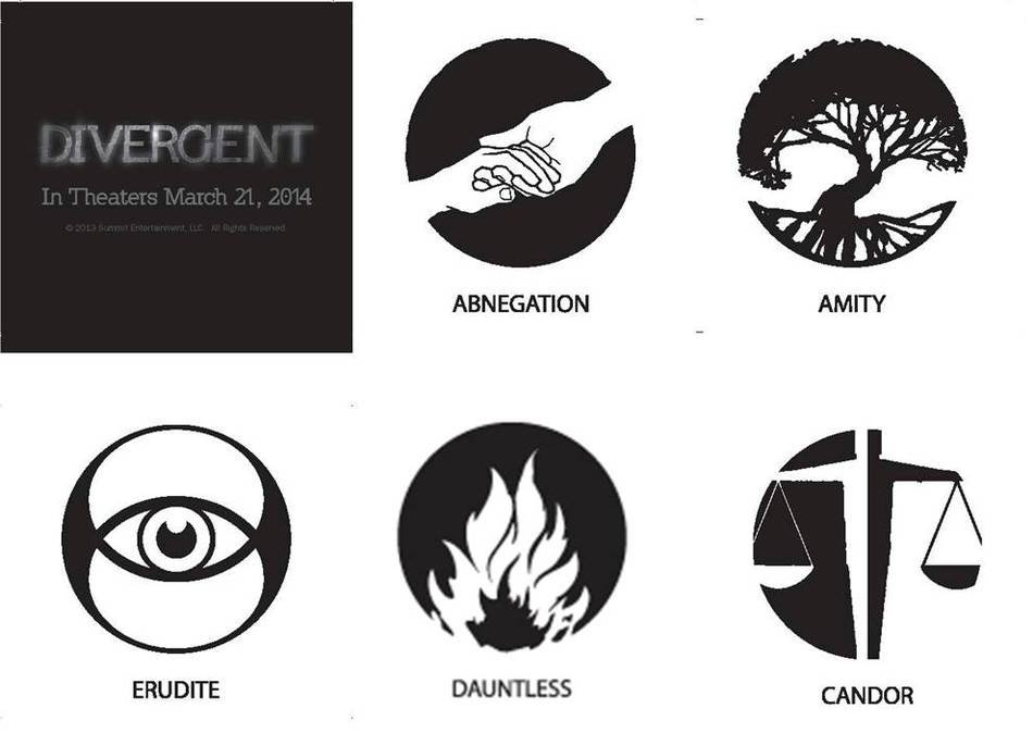 Divergent Tattoos drawing