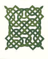 green celtic knot