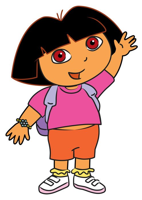 Dora Cartoon Characters drawing