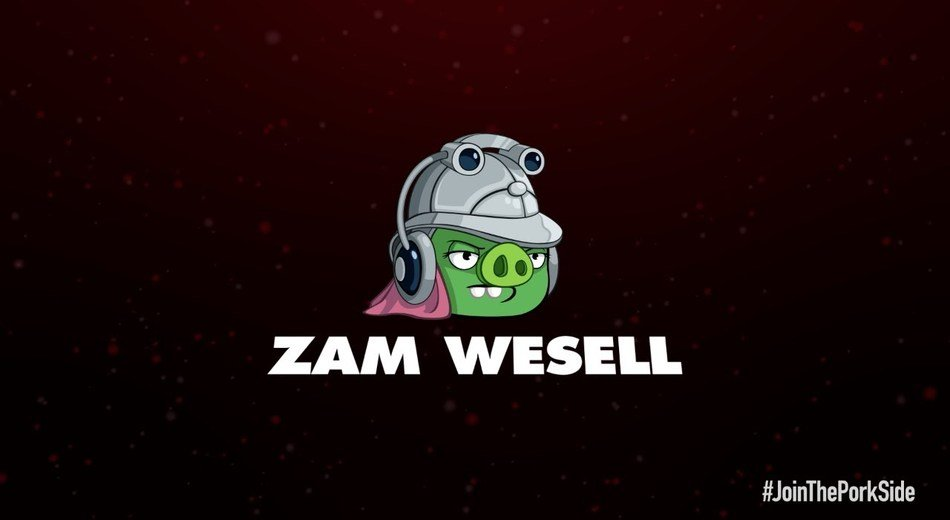 Angry Birds Star Wars 2 Characters drawing