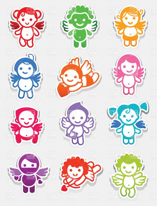 Sticker Vector Art Free drawing