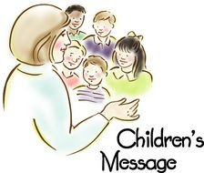 Colorful Children's Message clipart