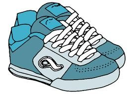 drawn running shoes