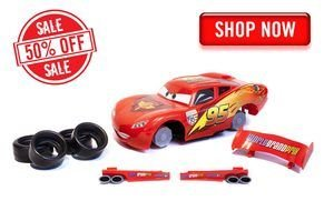 toy car Mcqueen as a picture for clipart