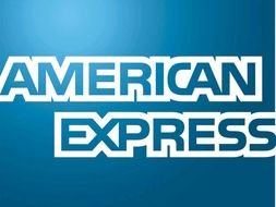clipart of the American Express Logo