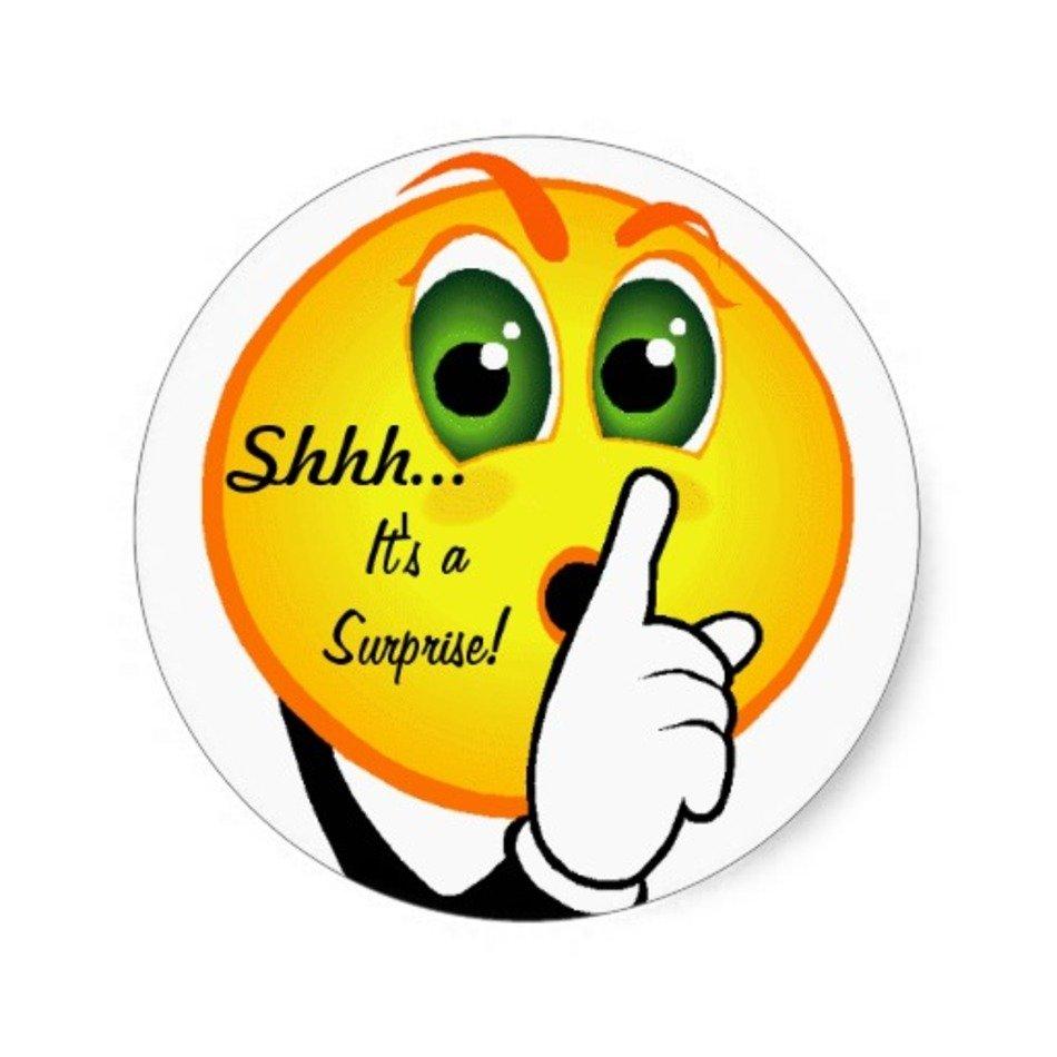 shhh its a surprise clip art n2 free image