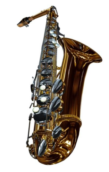 Saxaphone as a picture for clipart