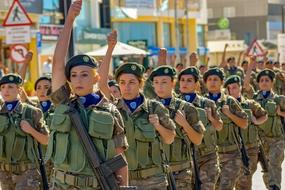 parade of military women